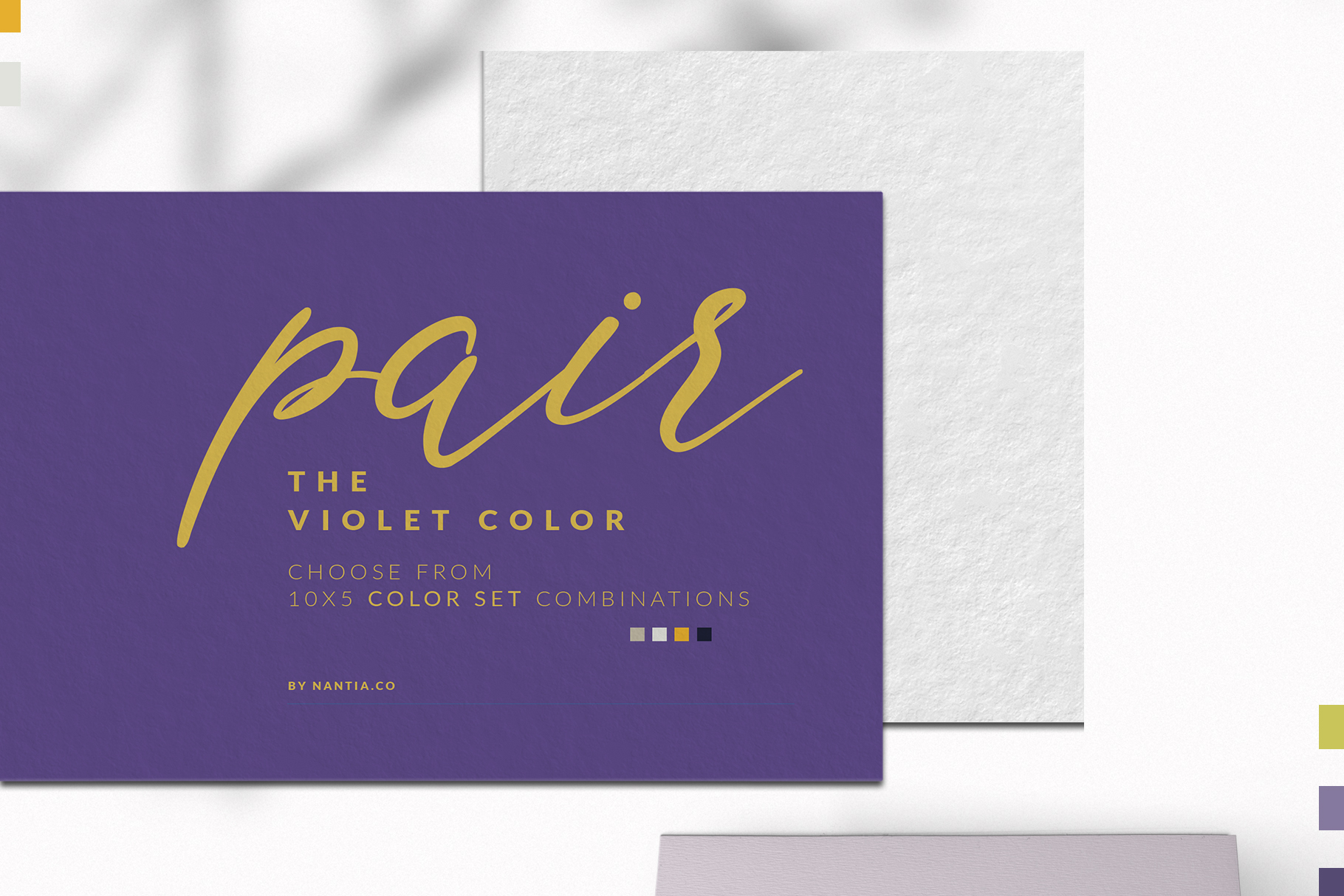 Violet Color Palette collection example image 2