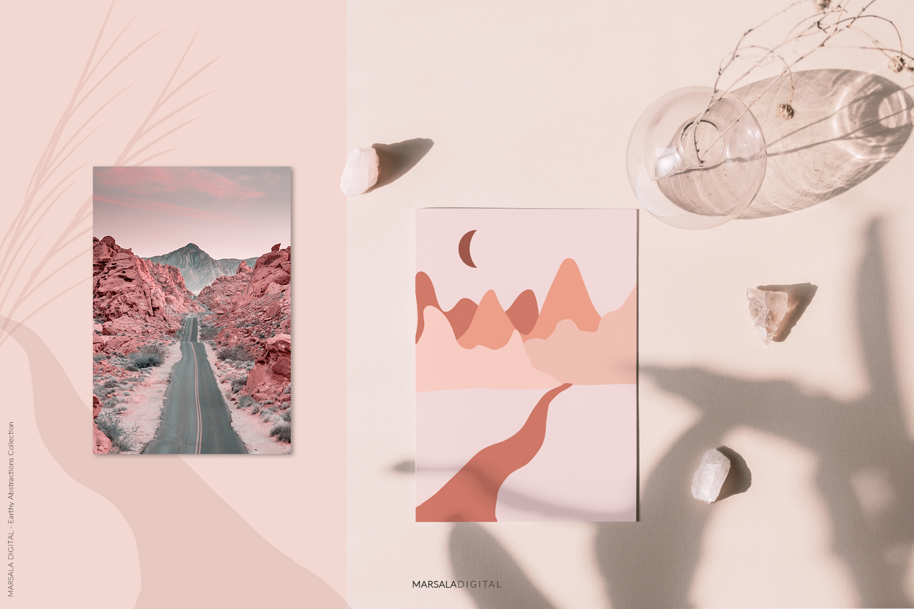 EARTHY Abstractions & Prints Celestial, Desert, Bohemian example image 8