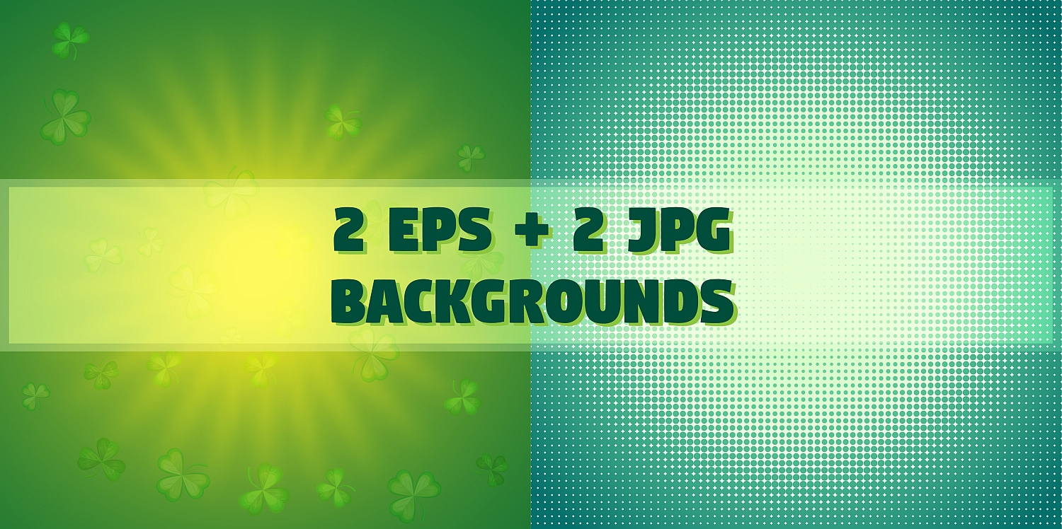 Set of elements for the st. Patrick`s Day example image 4