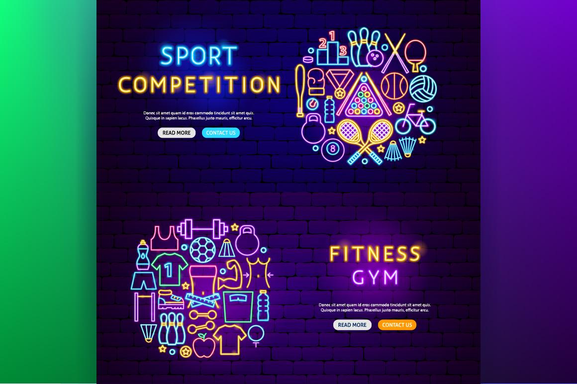 Fitness Neon example image 6