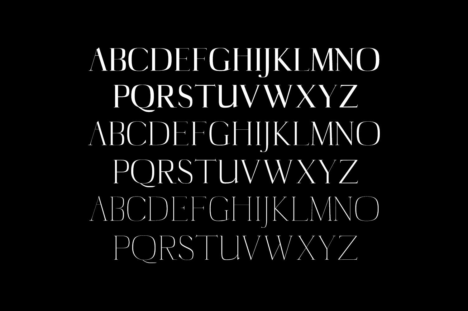 Cartland Serif Typeface example image 2
