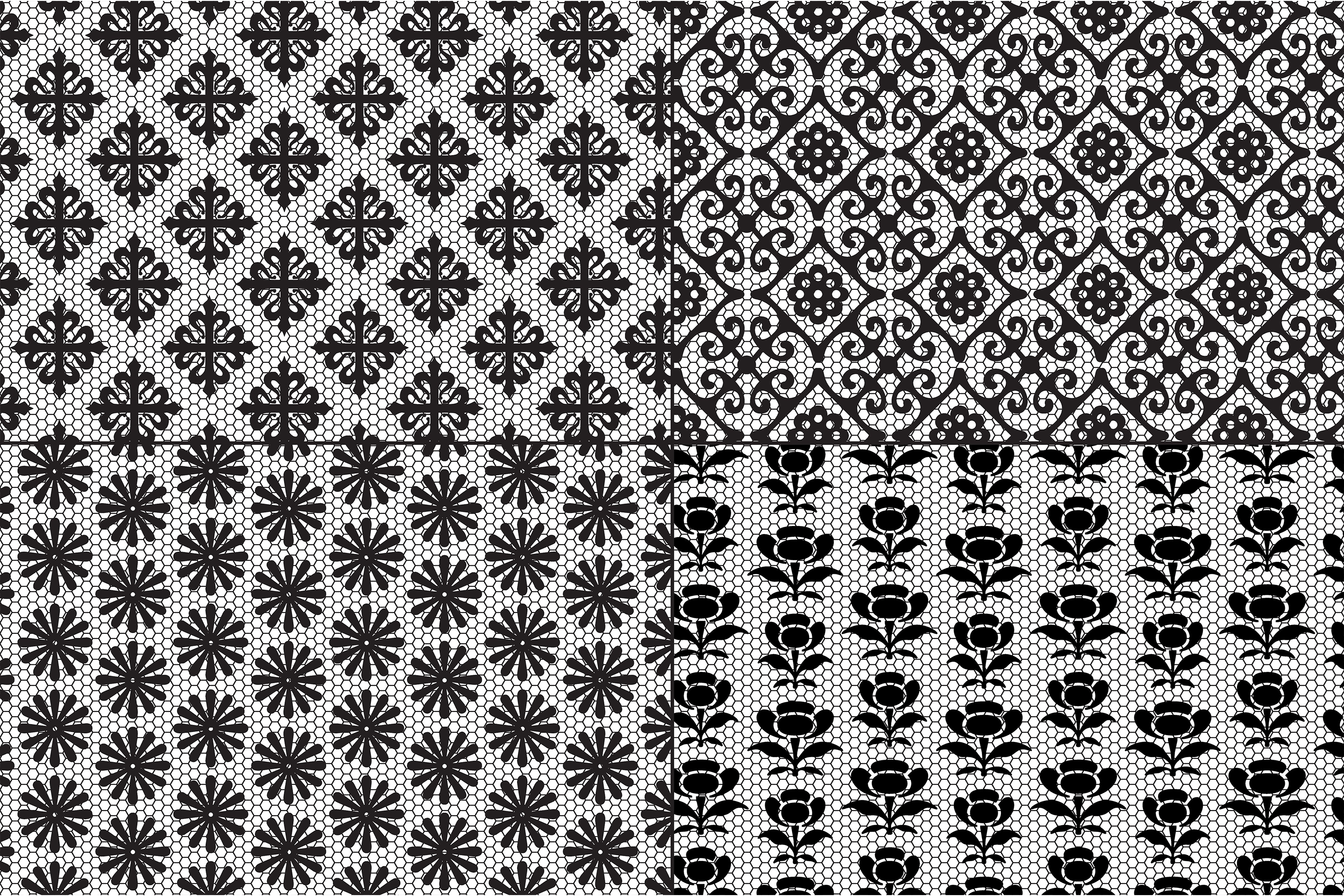 Black Lace Patterns example image 4