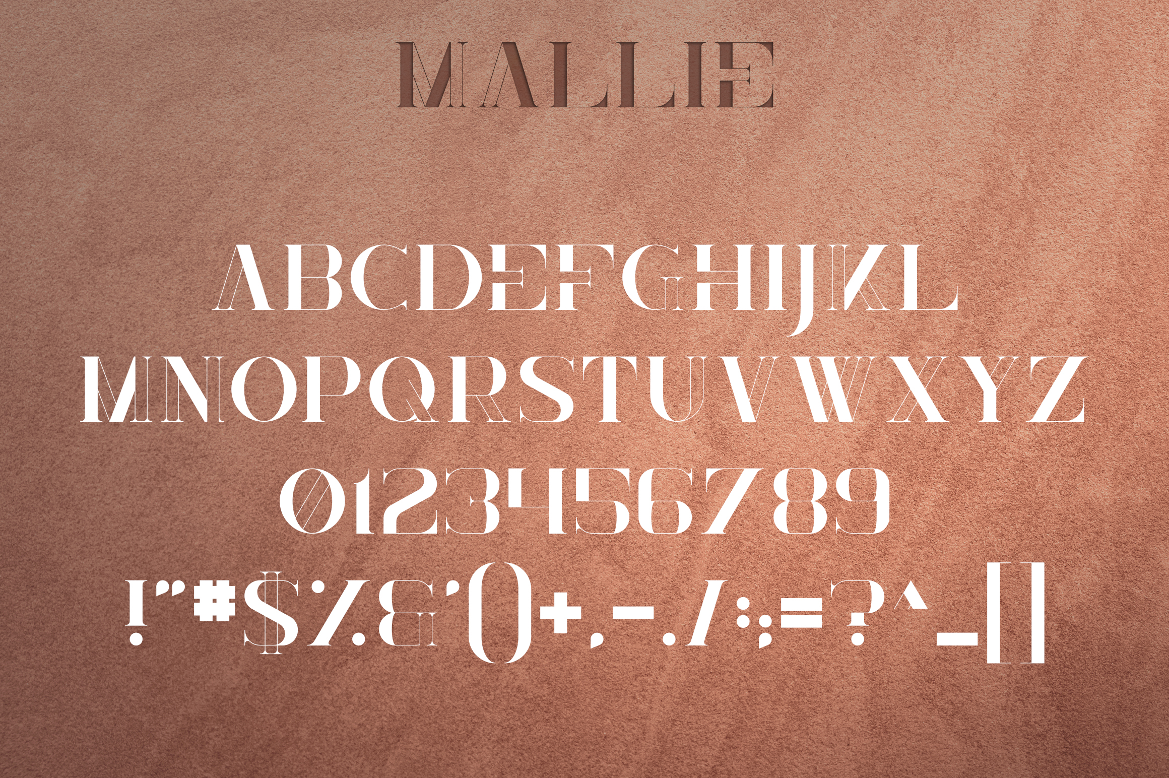 Mallie - Fusion font example image 8