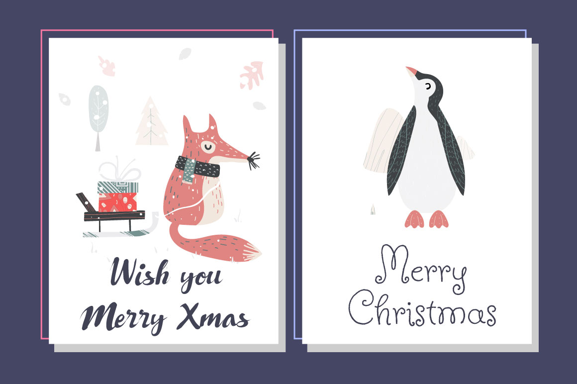 5 Christmas Cards example image 2