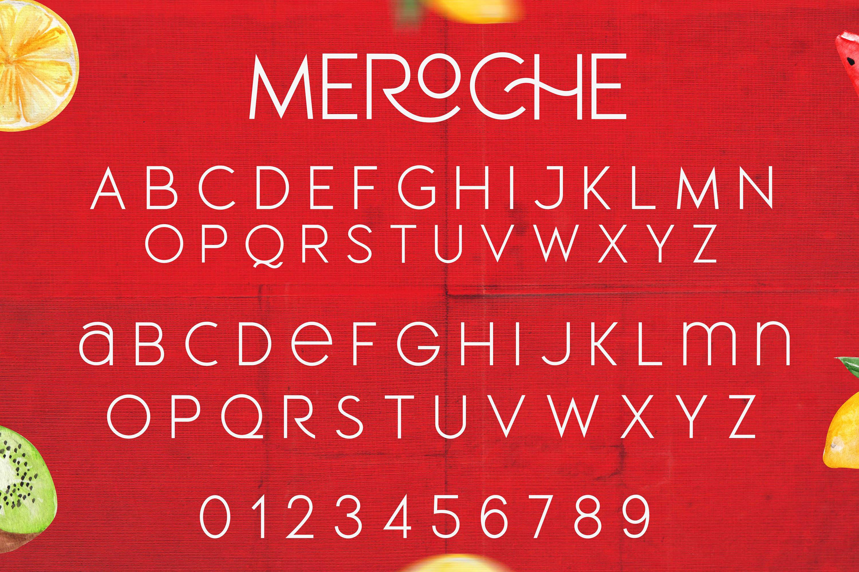 Meroche - Sweet & Classy Sans example image 8