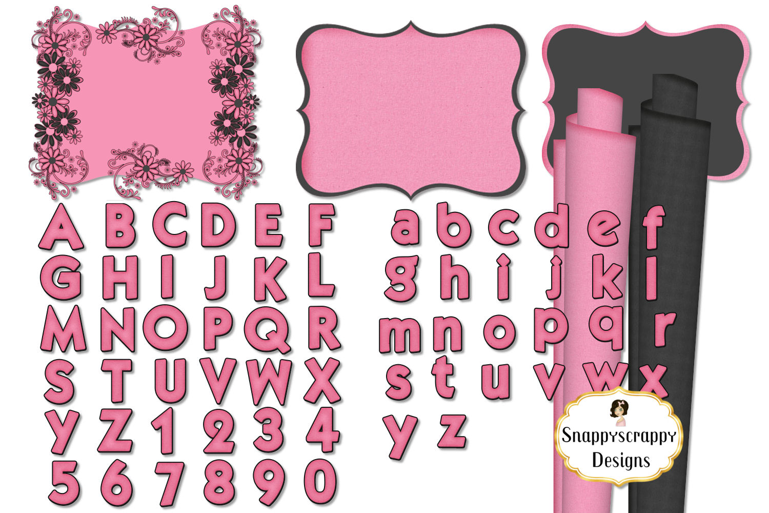 Black and Pink Kit example image 2