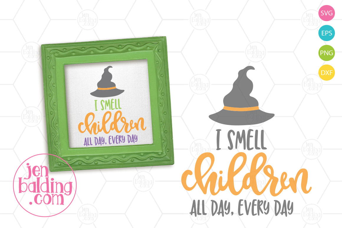 I Smell Children SVG example image 1