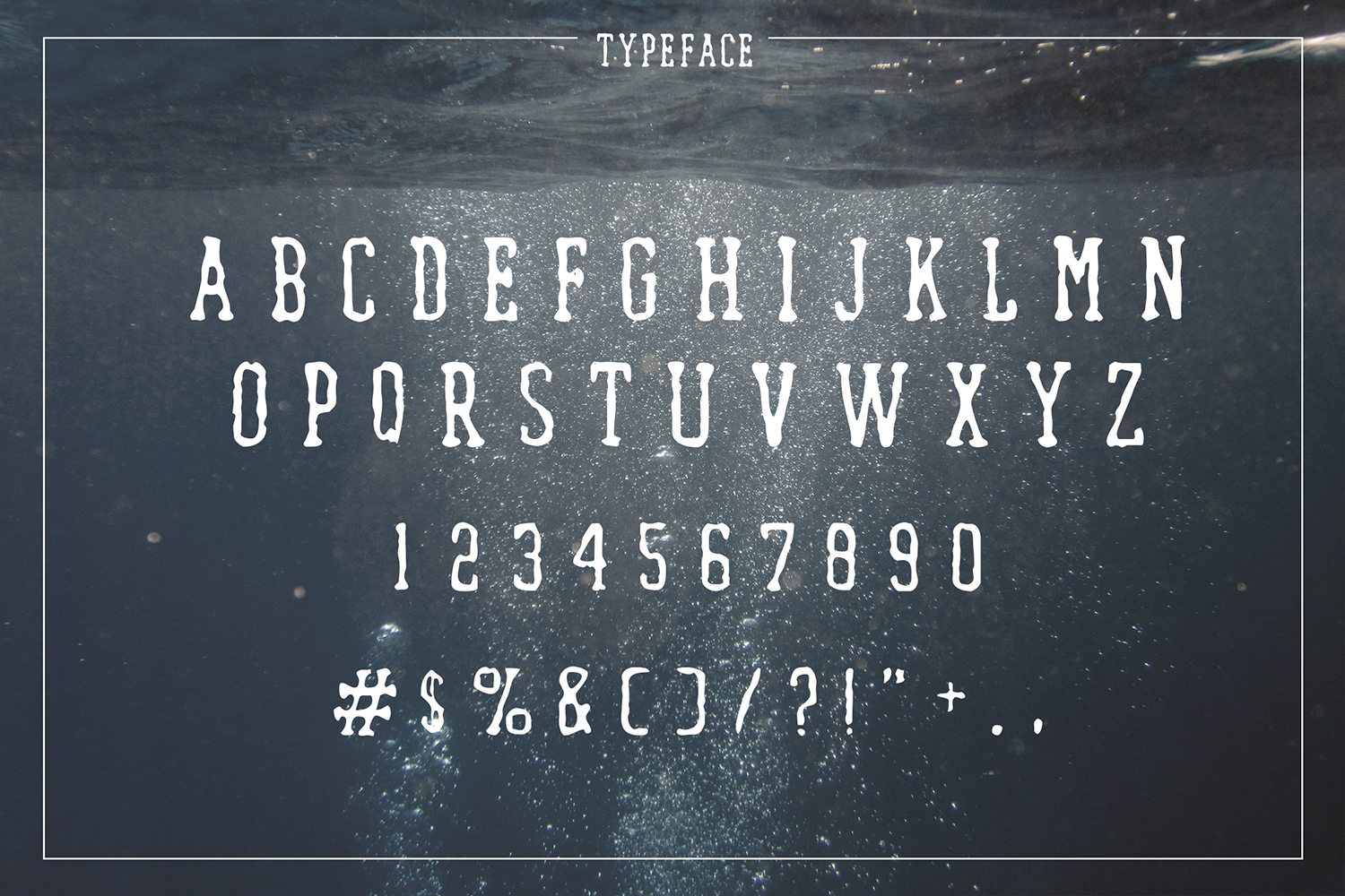 Waterfall. Handcrafted Font (+bonus) example image 3