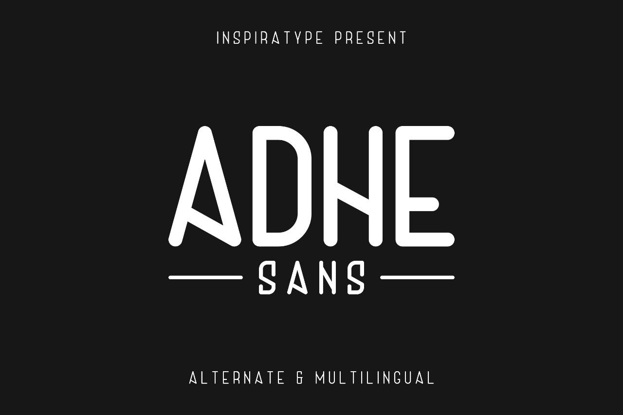 Adhe Sans example image 1