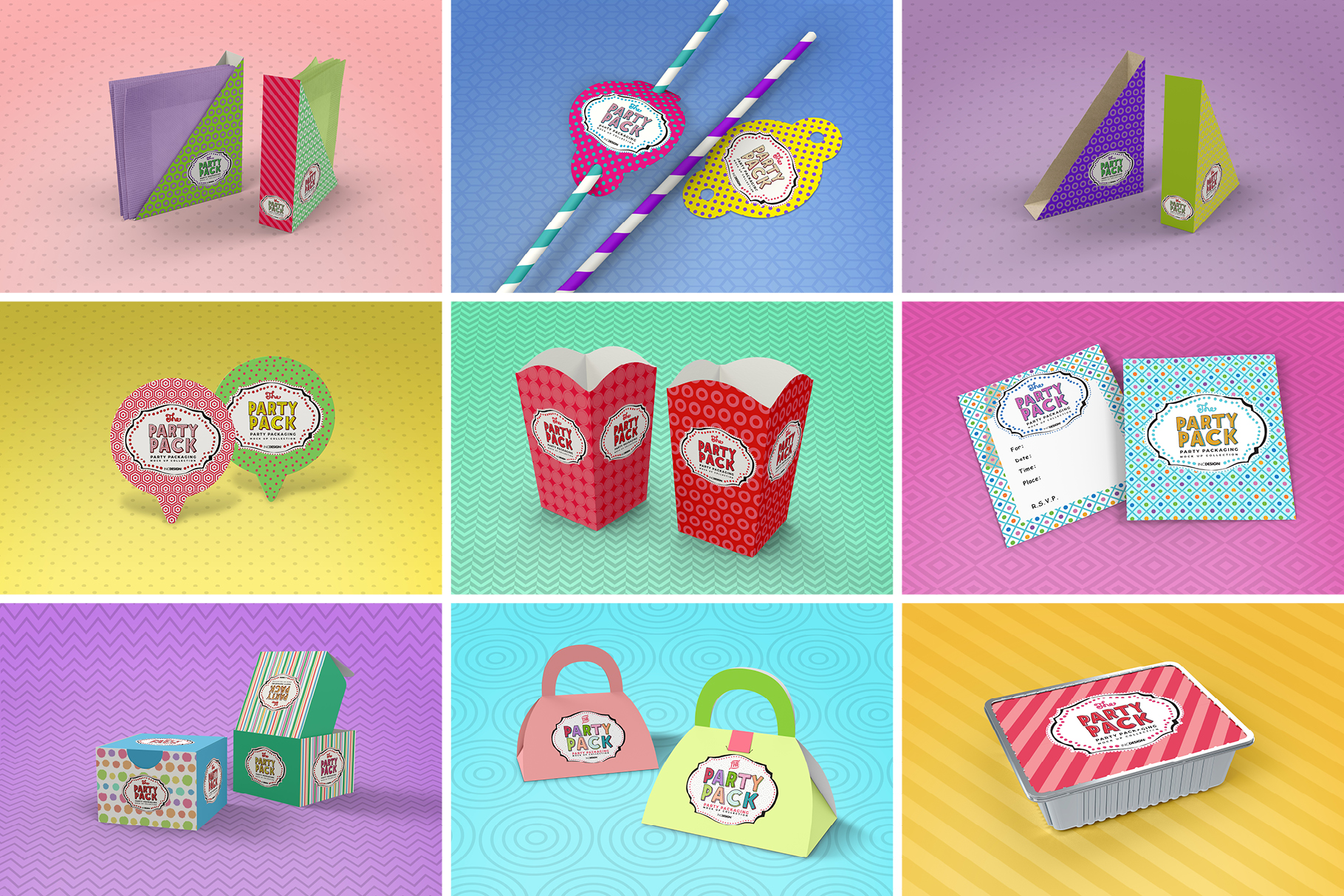 The Party Pack Mockup BUNDLE example image 5