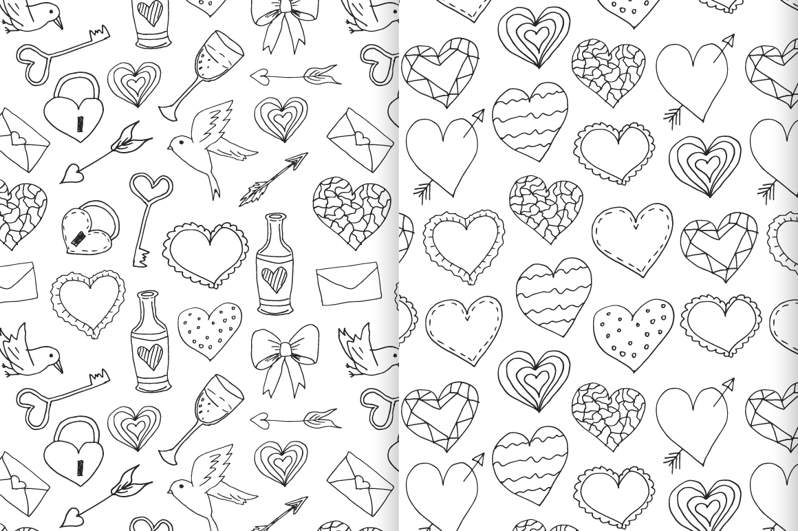 Valentine's Vector Collection example image 5