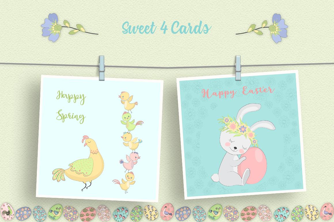 Happy Easter Illustration Set example image 2