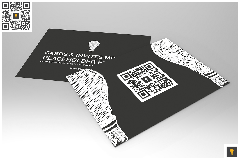 Invitation Card Mockup example image 4