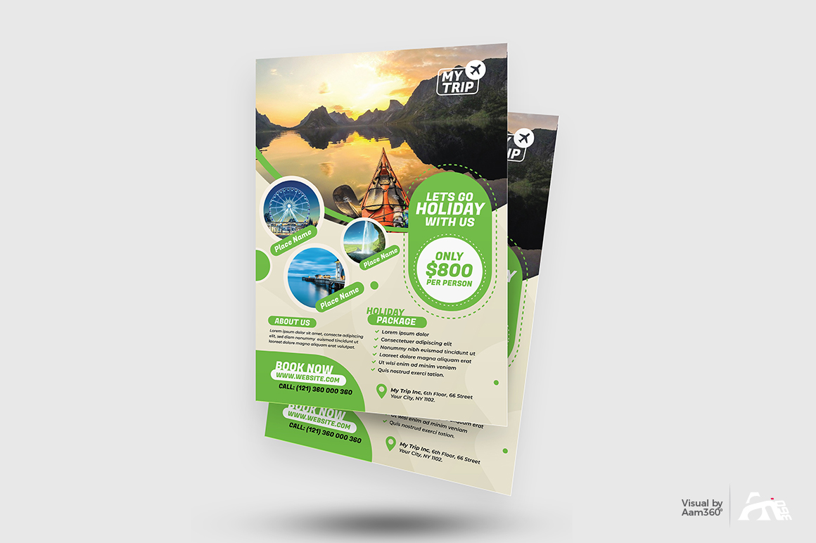 Travel Flyer Template example image 2