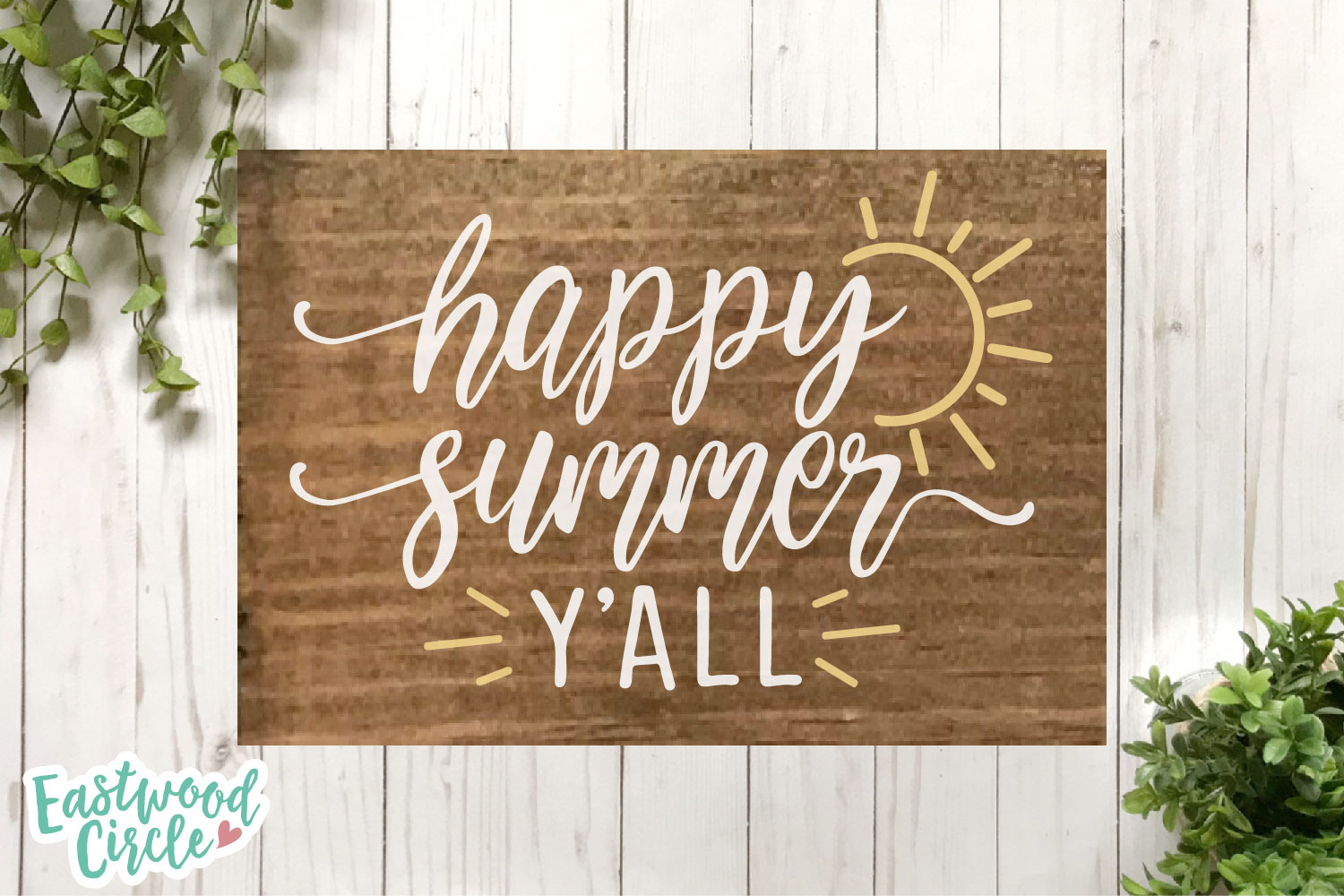 Summer SVG Bundle - Cut Files for Signs example image 13