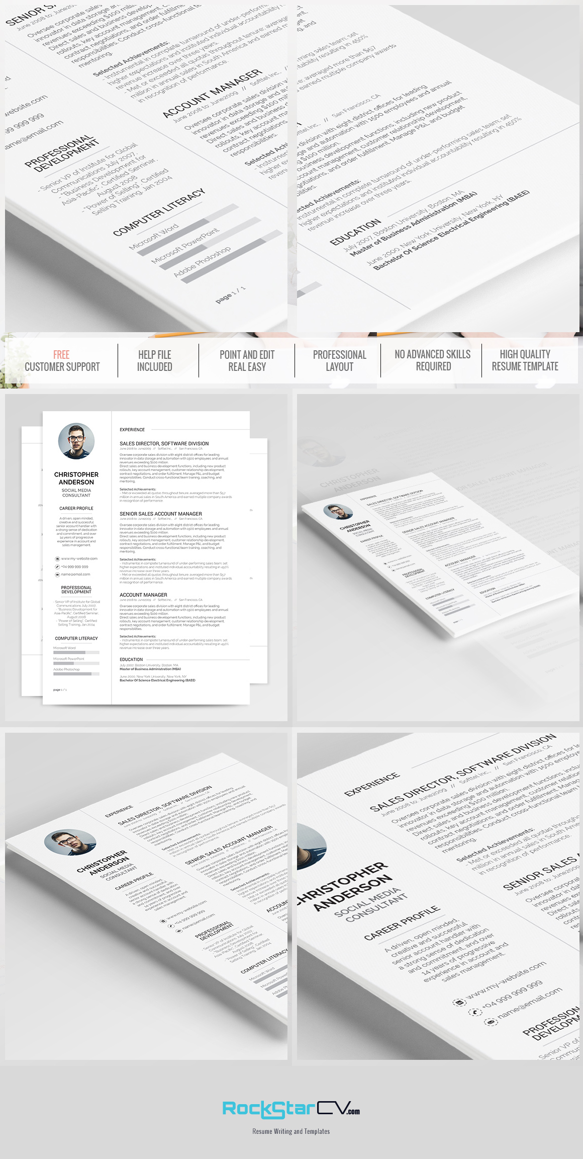 resume template synnove Professional Resume Examples resume template synnove ex le image 5