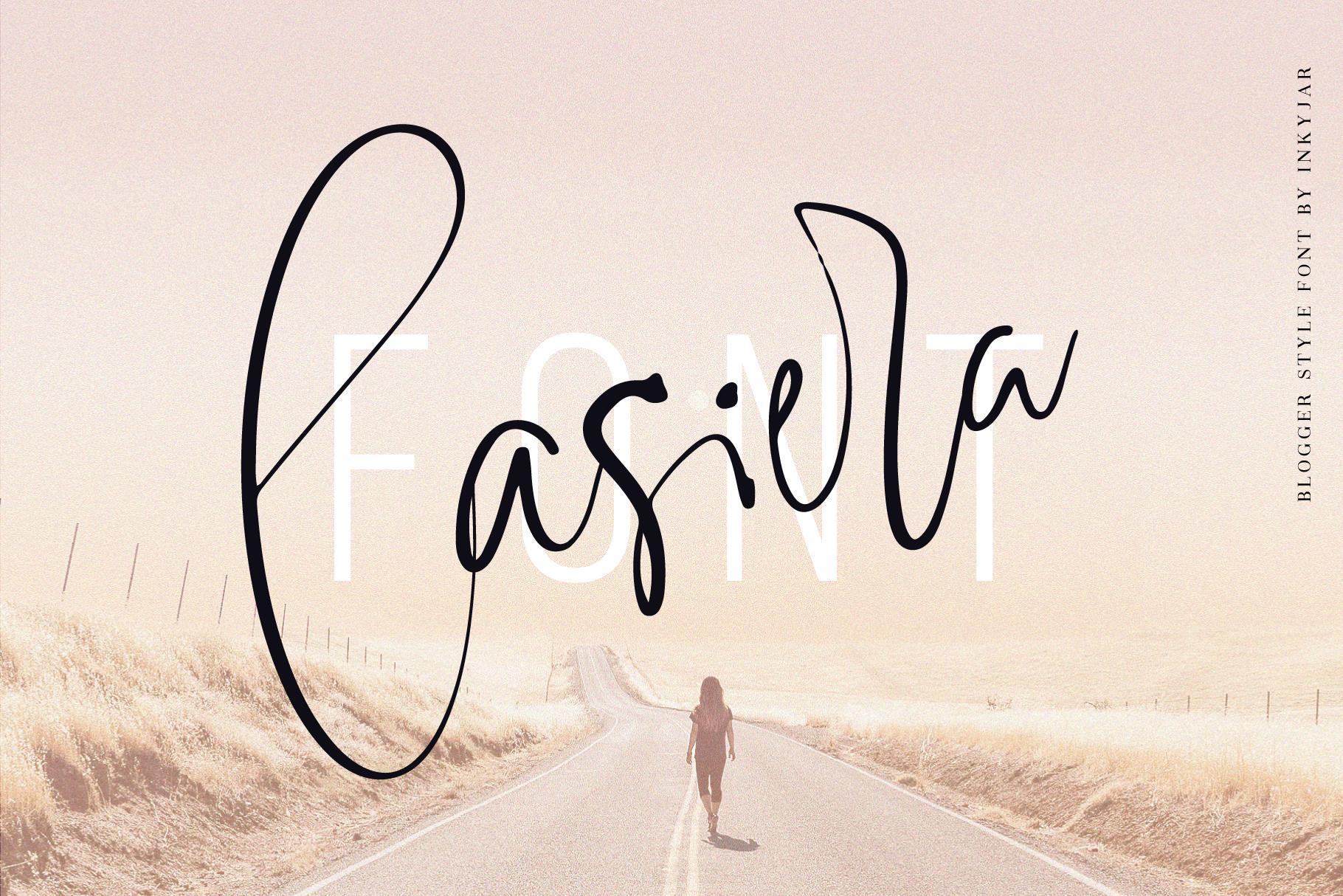 Lasiera Script Font | Blog style example image 1