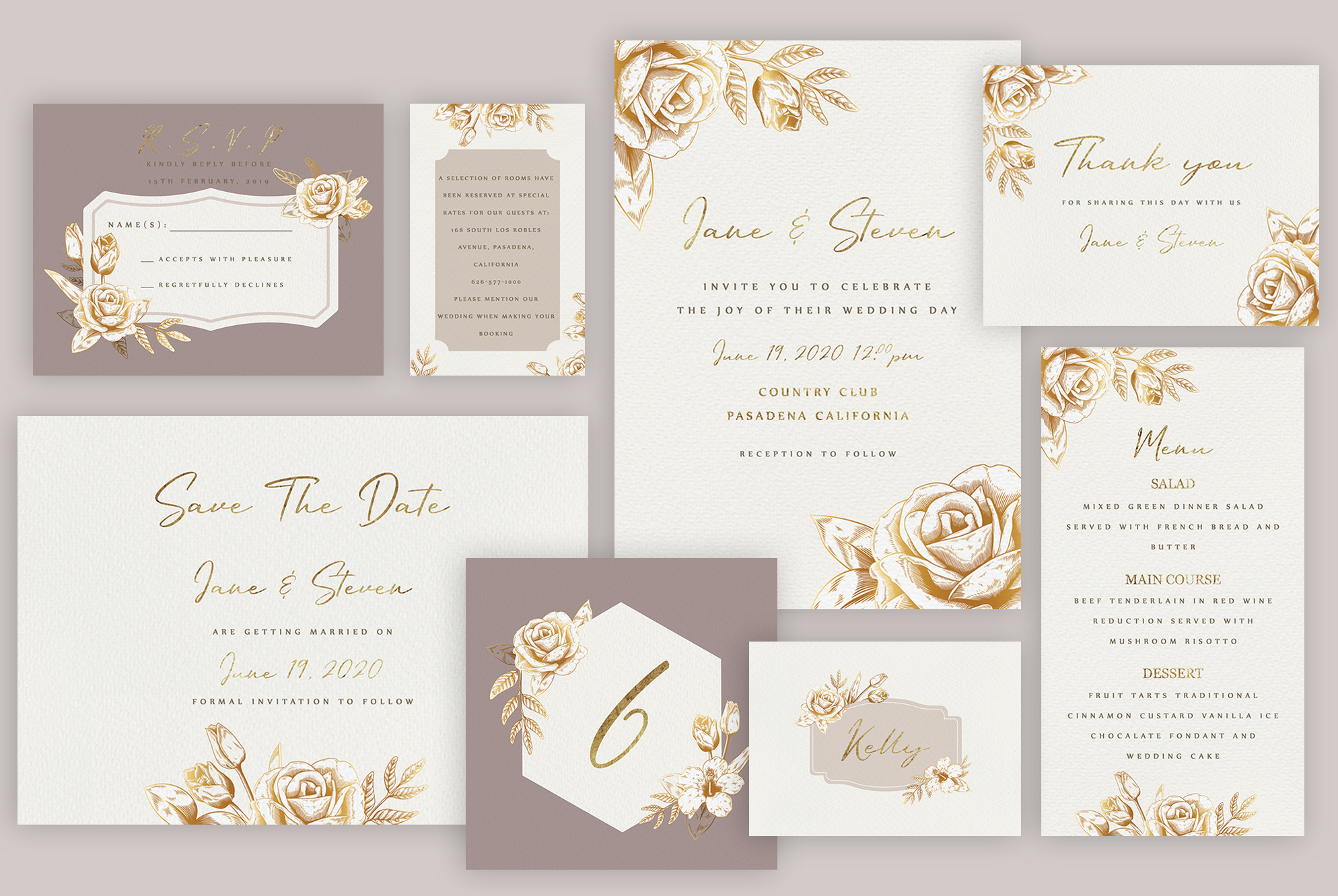 Wedding Invitation Suite example image 2
