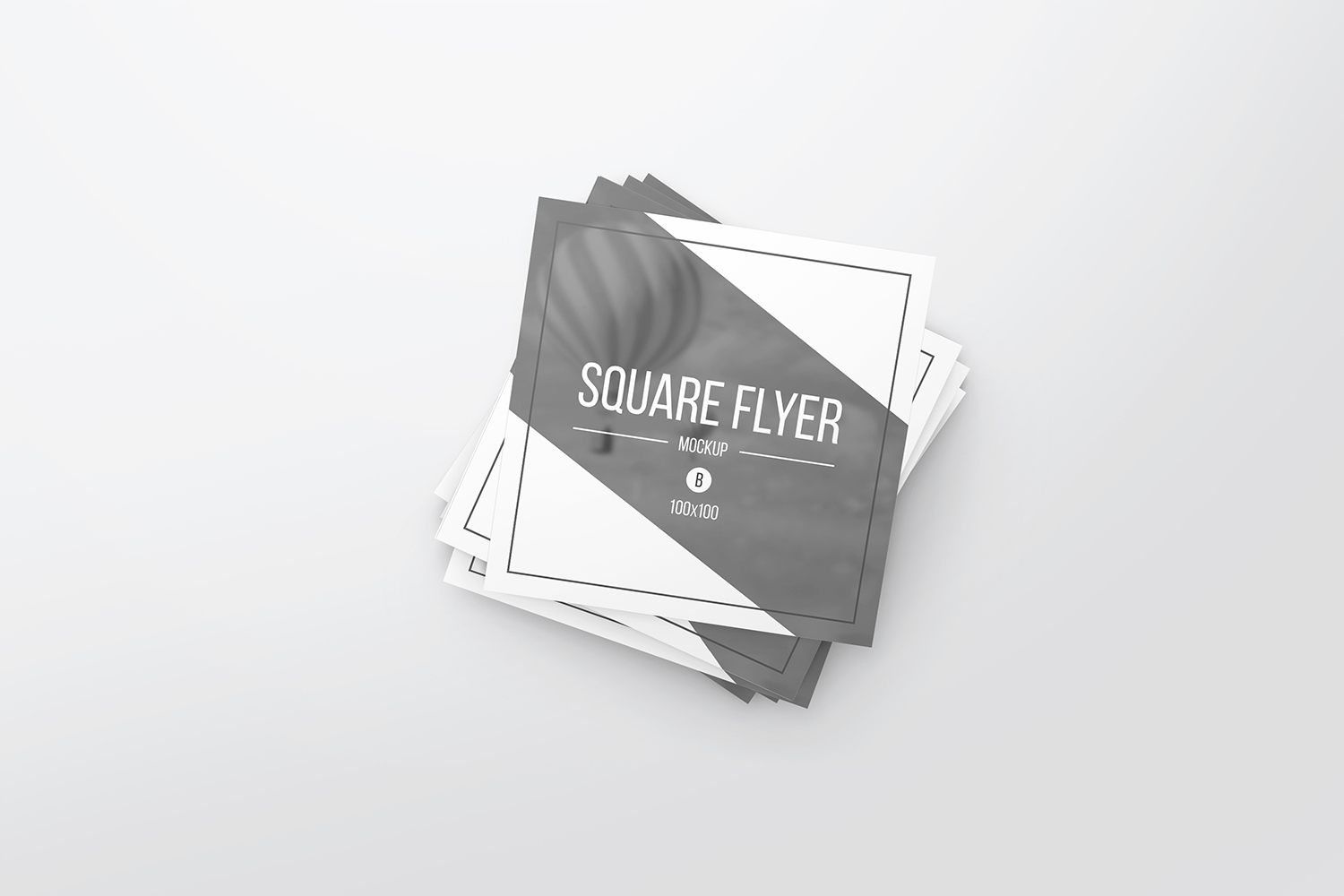 Square Flyer Mockups example image 3
