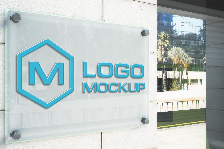 3D Logo Mock-up Bundle example image 7
