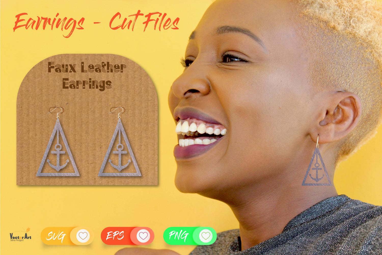 5 Earrings - Mini Bundle - Cut files example image 2