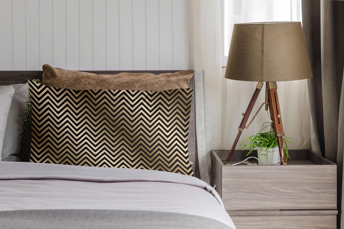 Luxury striped geometric patterns example image 2