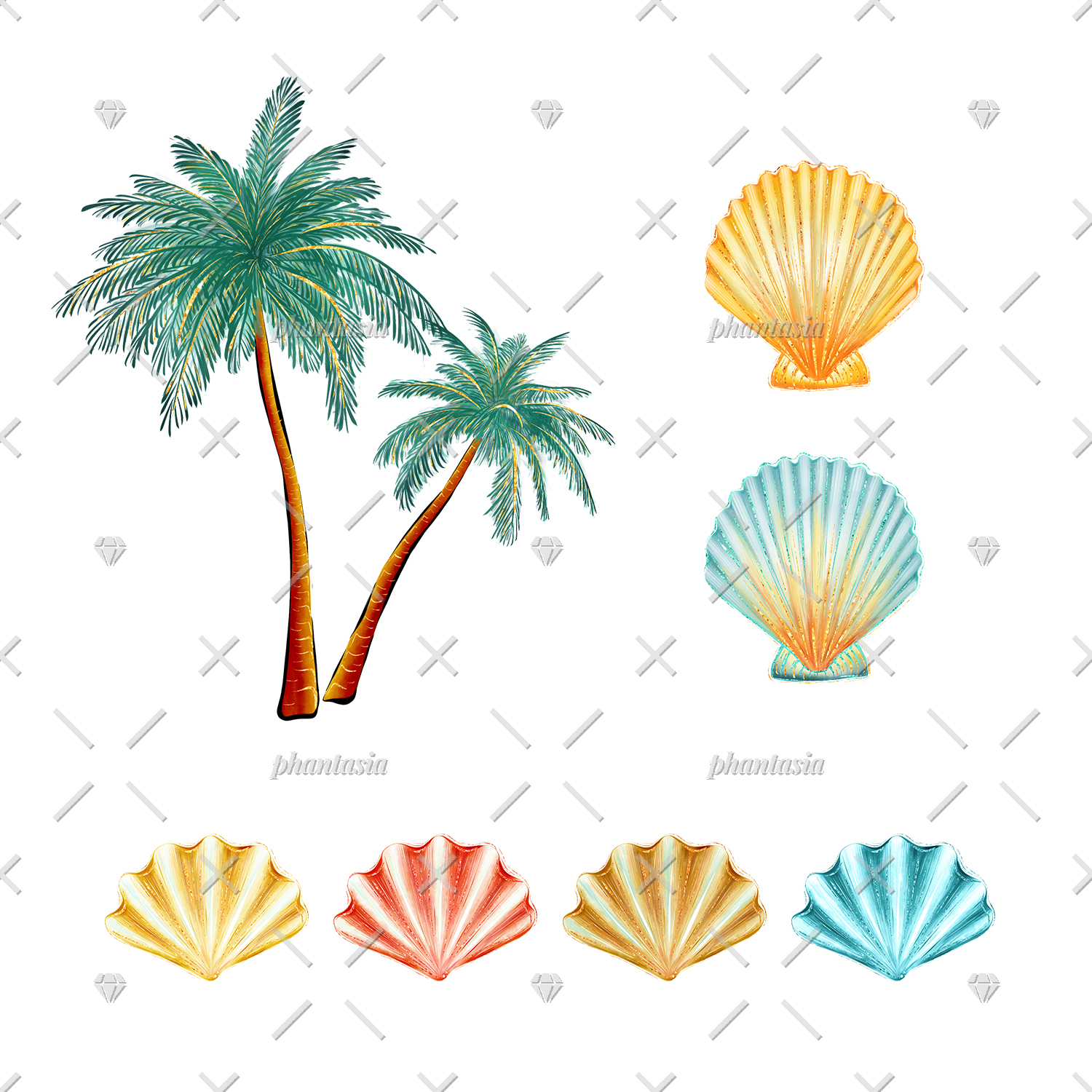 Surfer Girl Cliparts example image 6