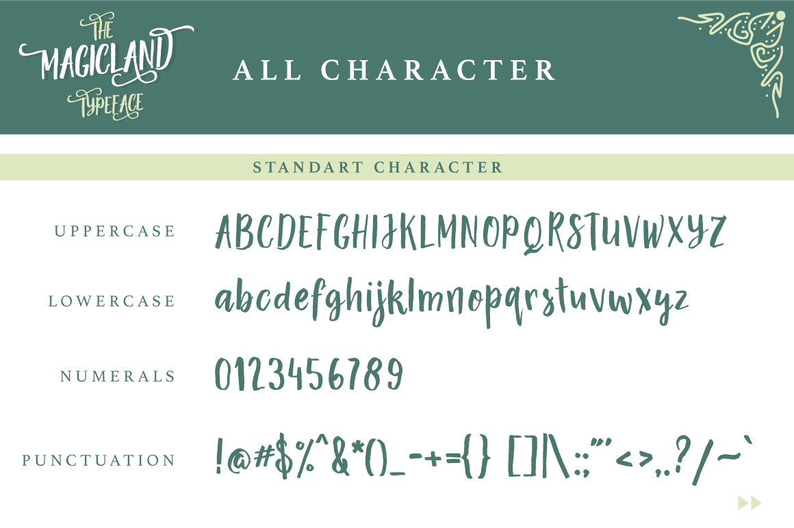 The Magicland Typeface example image 2