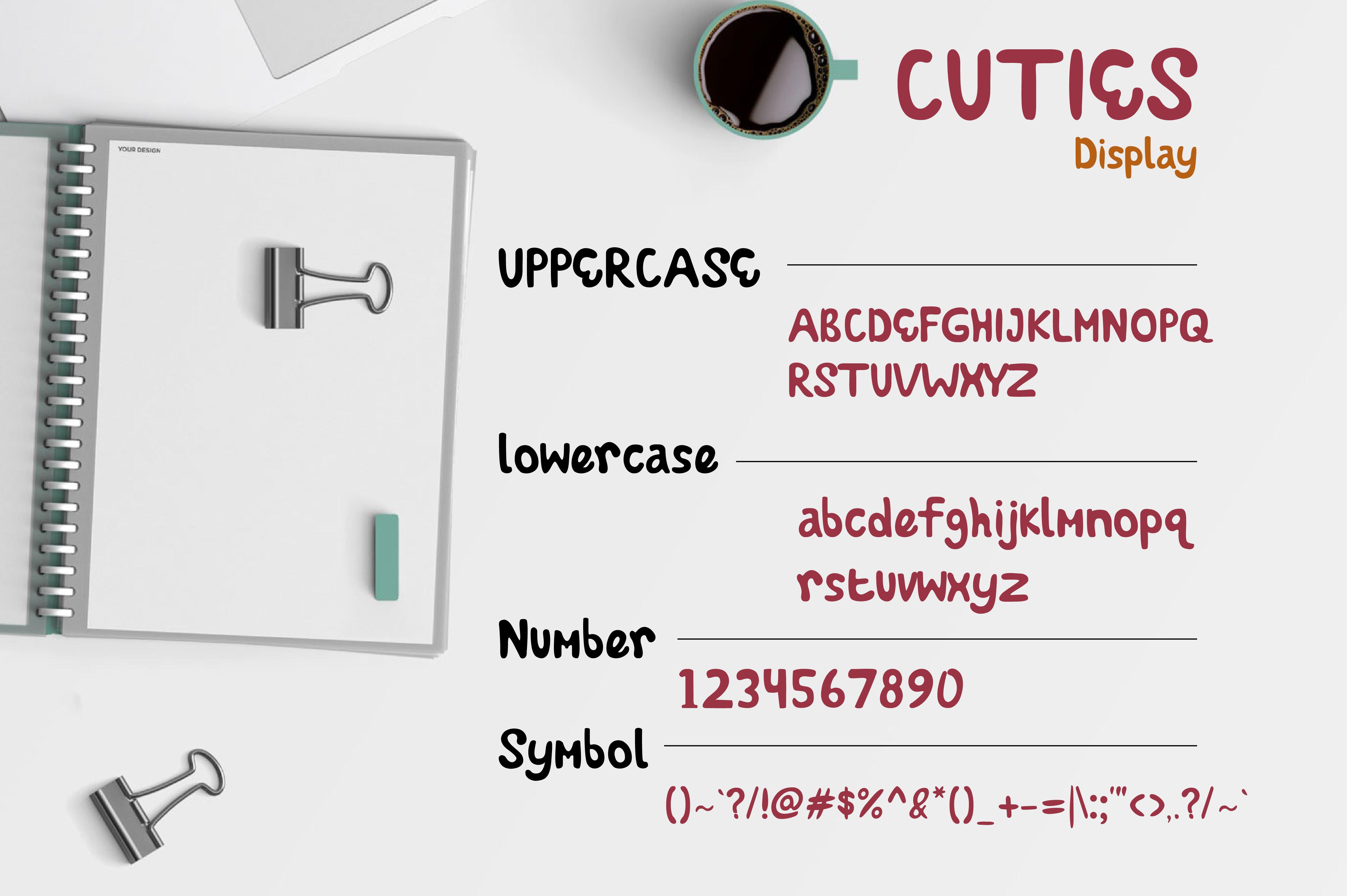 Cuties Font example image 2