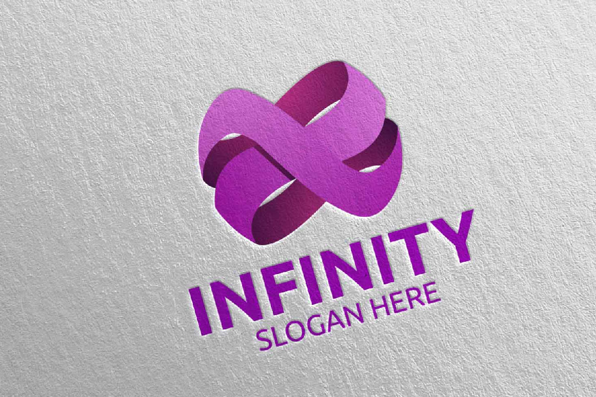 Infinity loop logo Design 22 example image 3