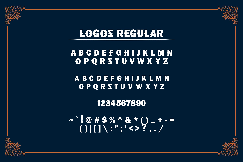 LOGOS | 5 Font Logo example image 11