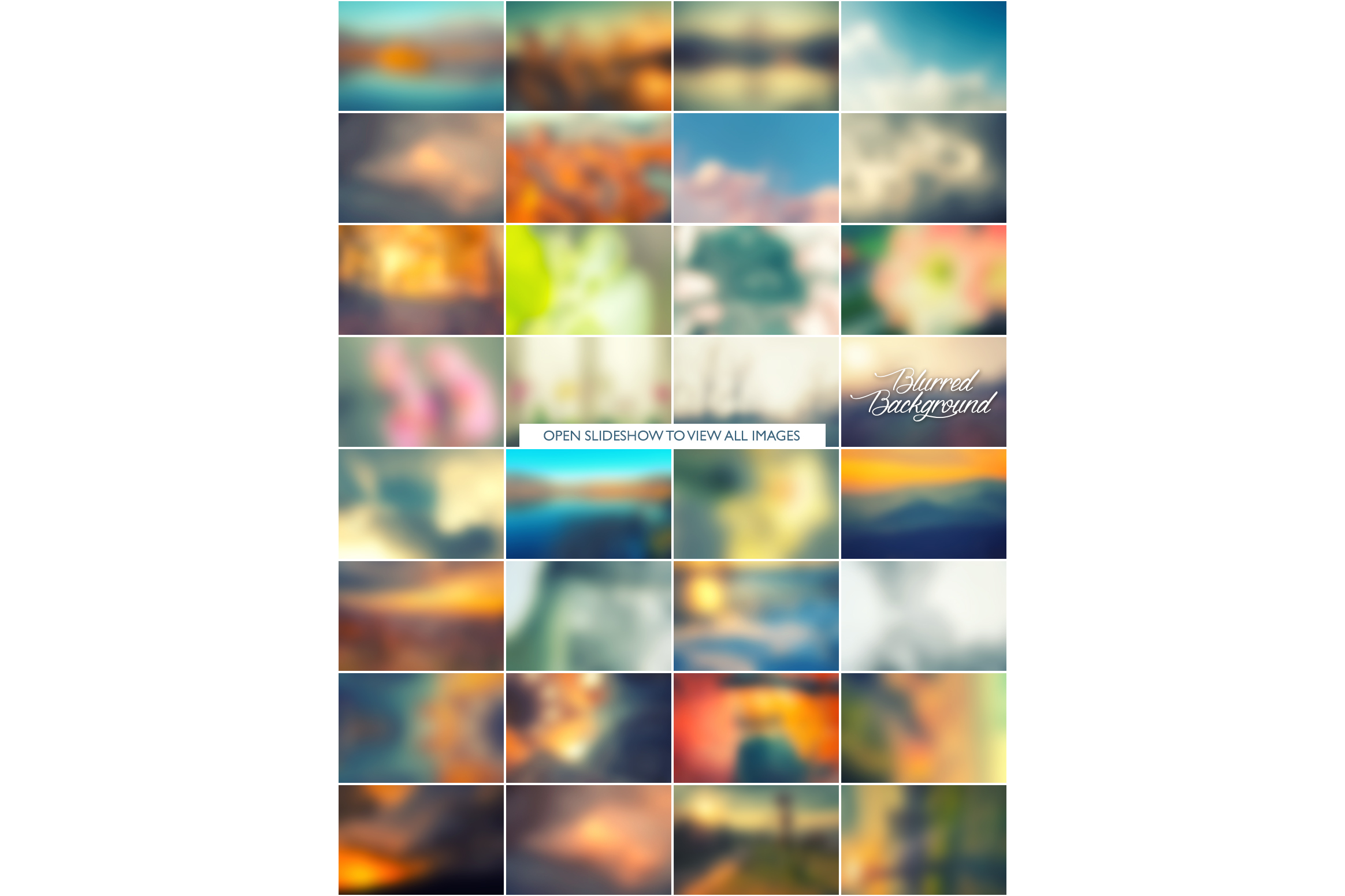 Blurred background collection example image 3