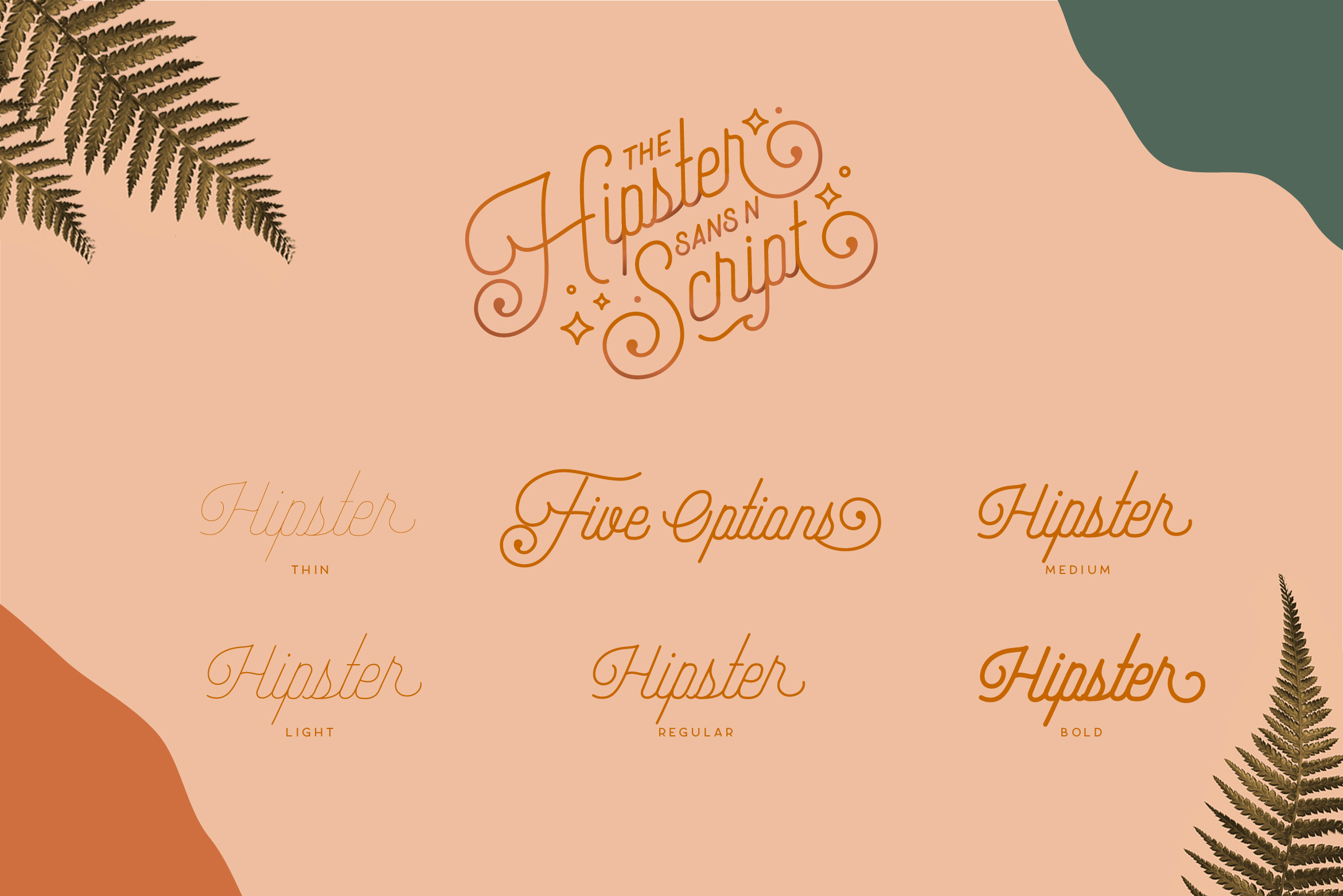 Hipster Style Script and Sans Typeface example image 15
