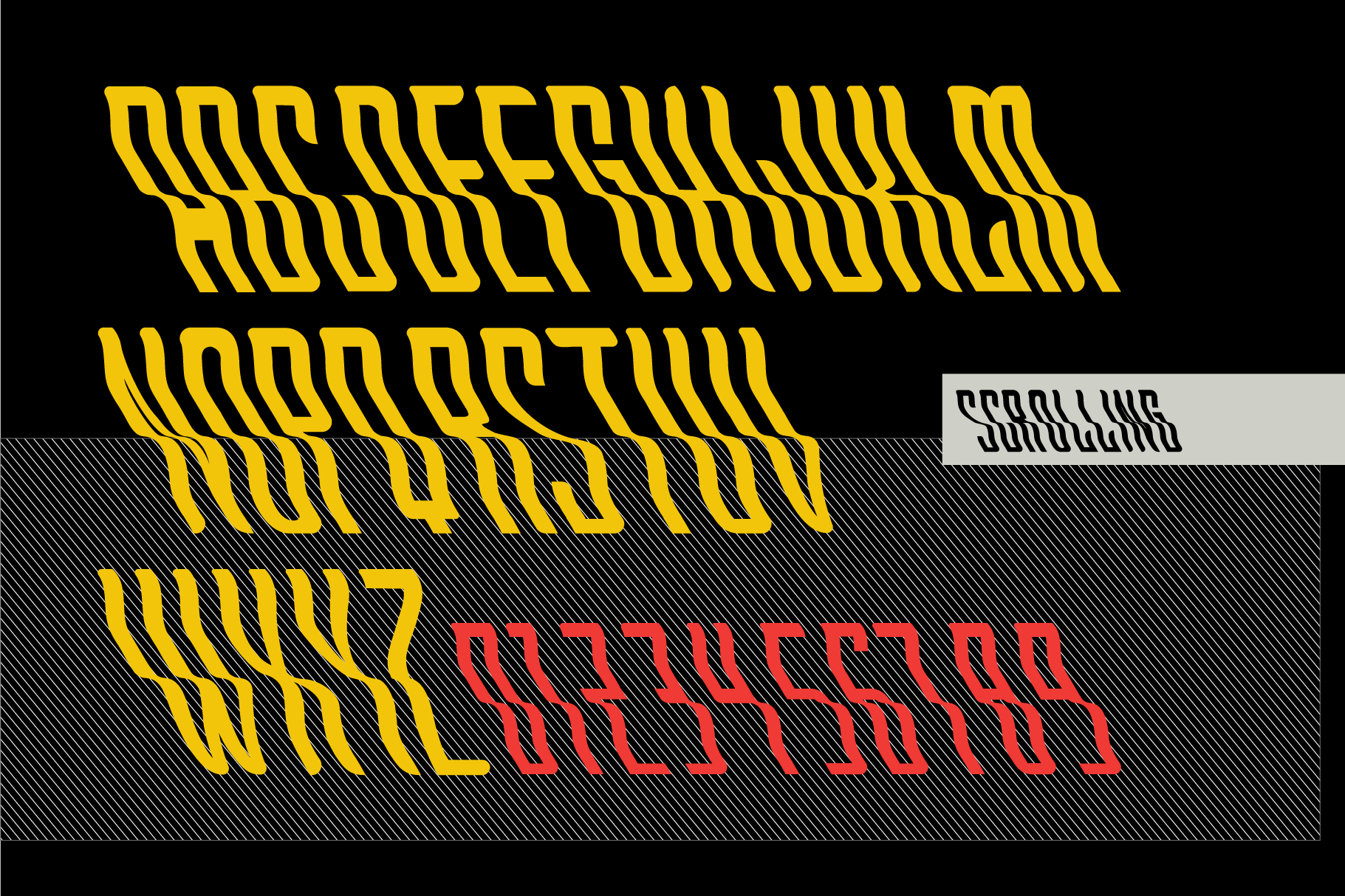Scrolling font example image 6