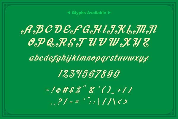 Aisha Script example image 4