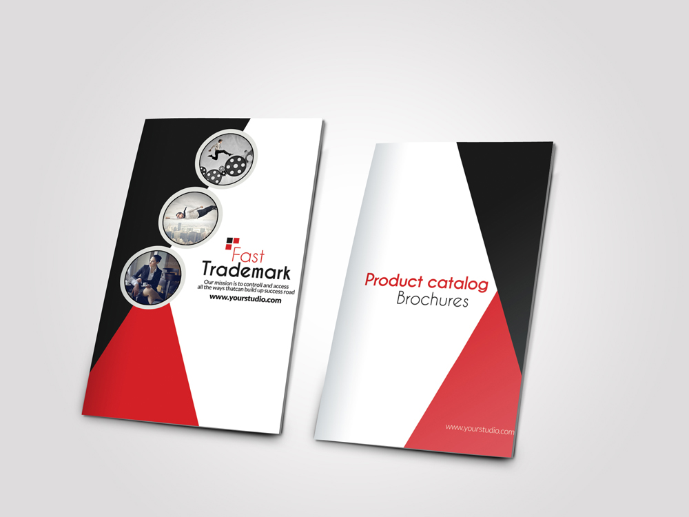 Employment Agency Business Bifold Brochure example image 3