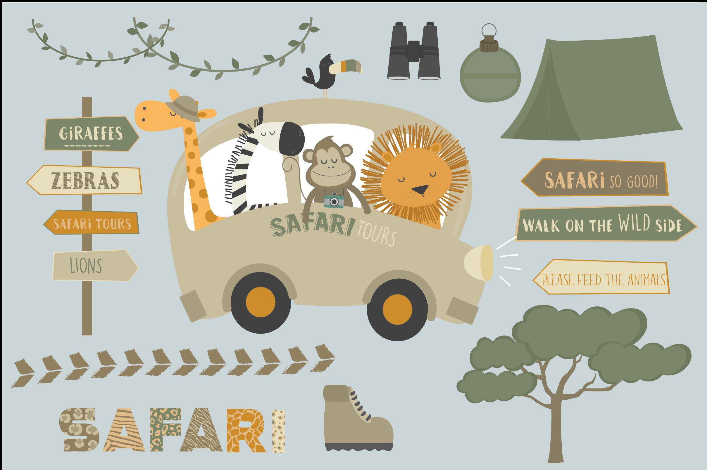 Safari tours set example image 2