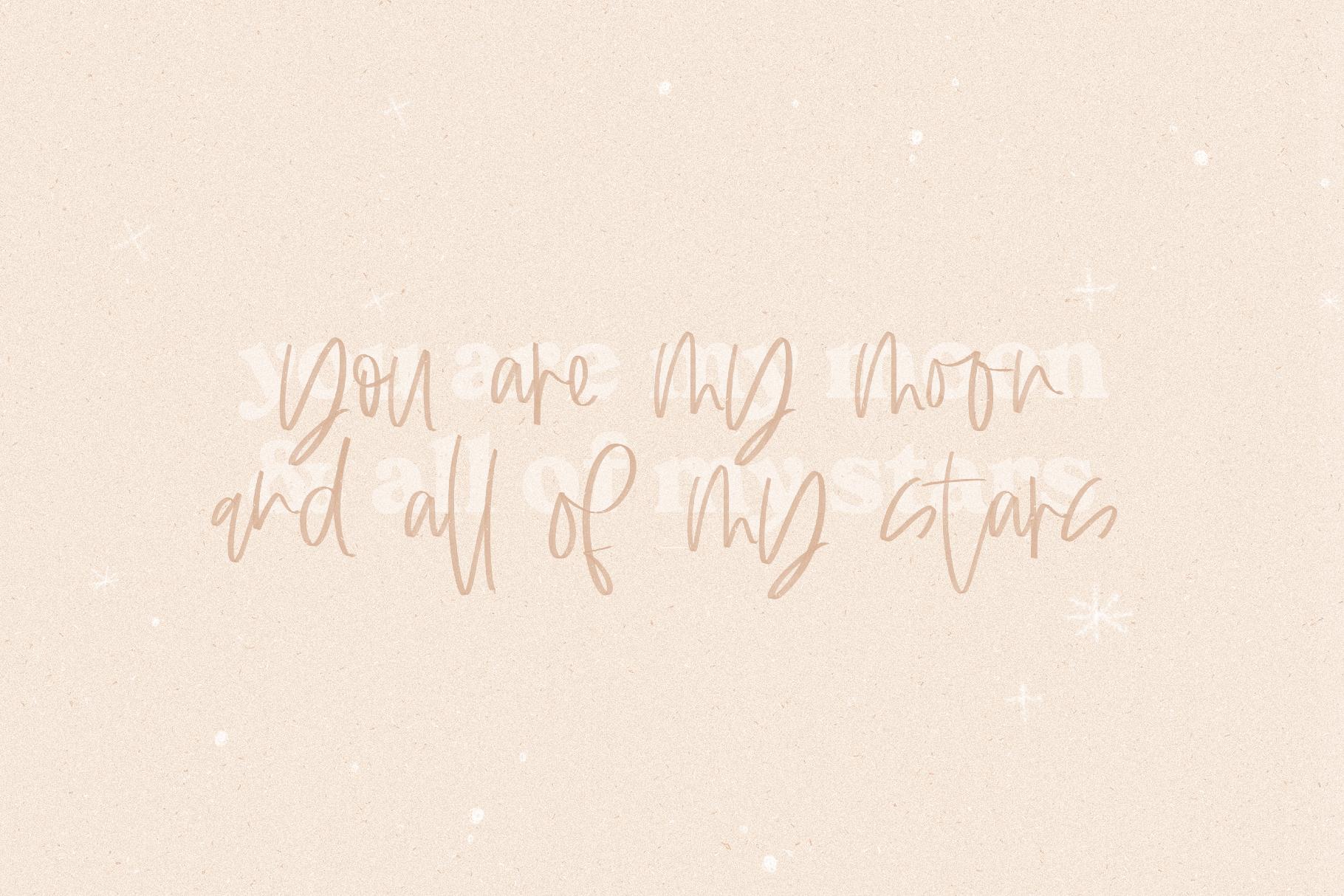 Always - A Handwritten SVG Script Font example image 5