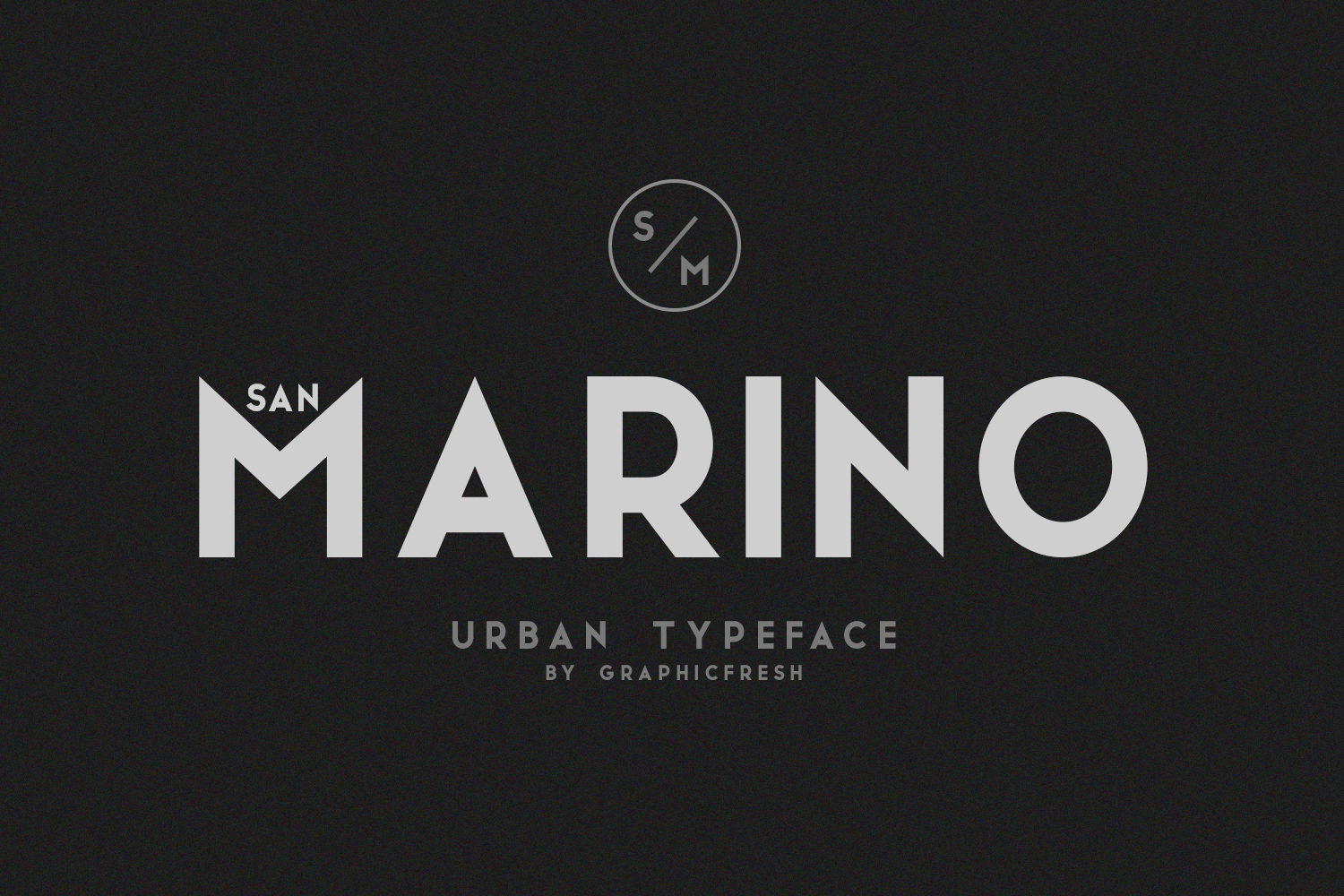 San Marino // Four Font Files example image 7