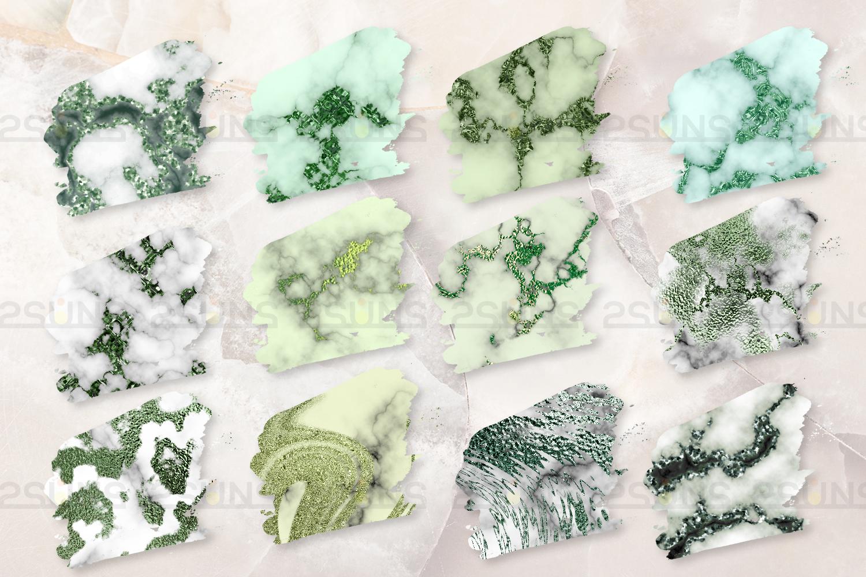 Emerald digital paper, green marble digital paper textures example image 5
