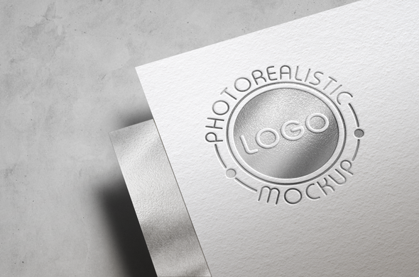 Logo Mock-Up Paper Edition example image 12