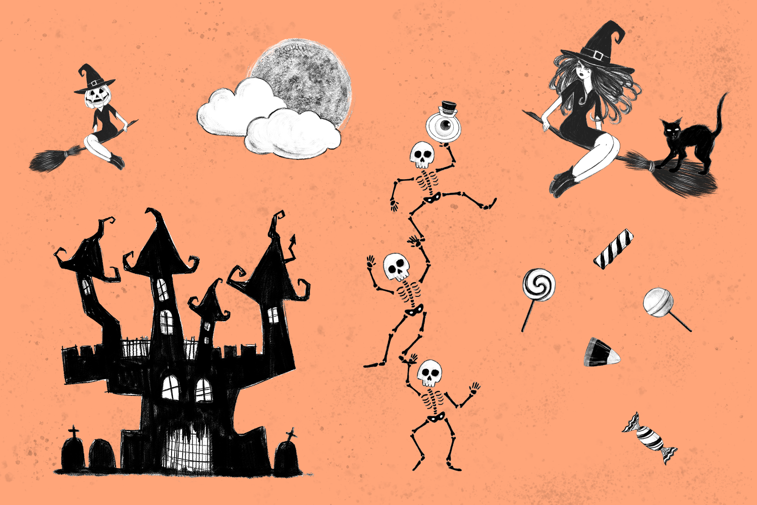 Halloween Collection png example image 3
