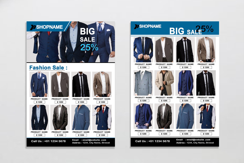 Flyer - Fashion example image 2