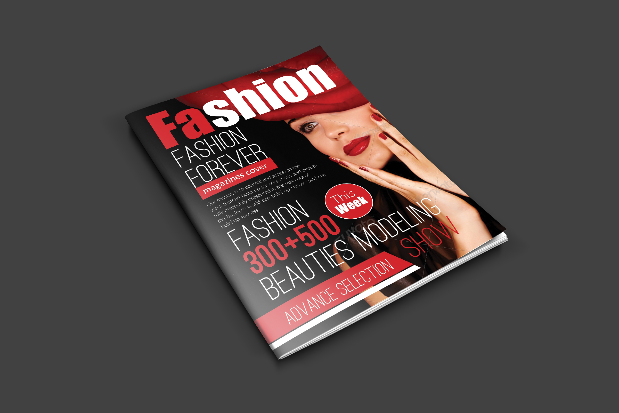 Magazine Cover Templates example image 1
