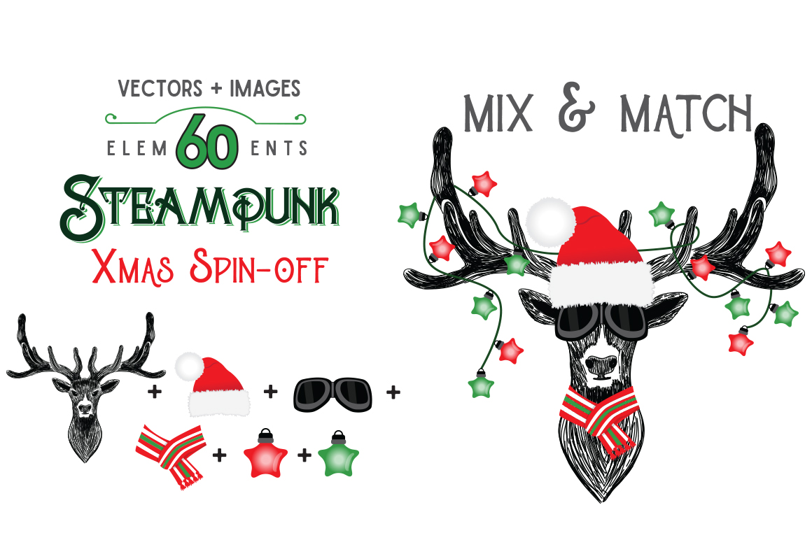 STEAMPUNK XMAS SPIN-OFF example image 3