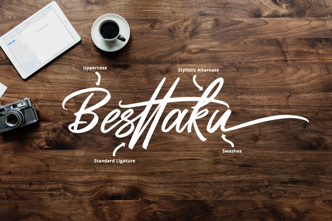 Butter Swany - Handwritten Font example image 3