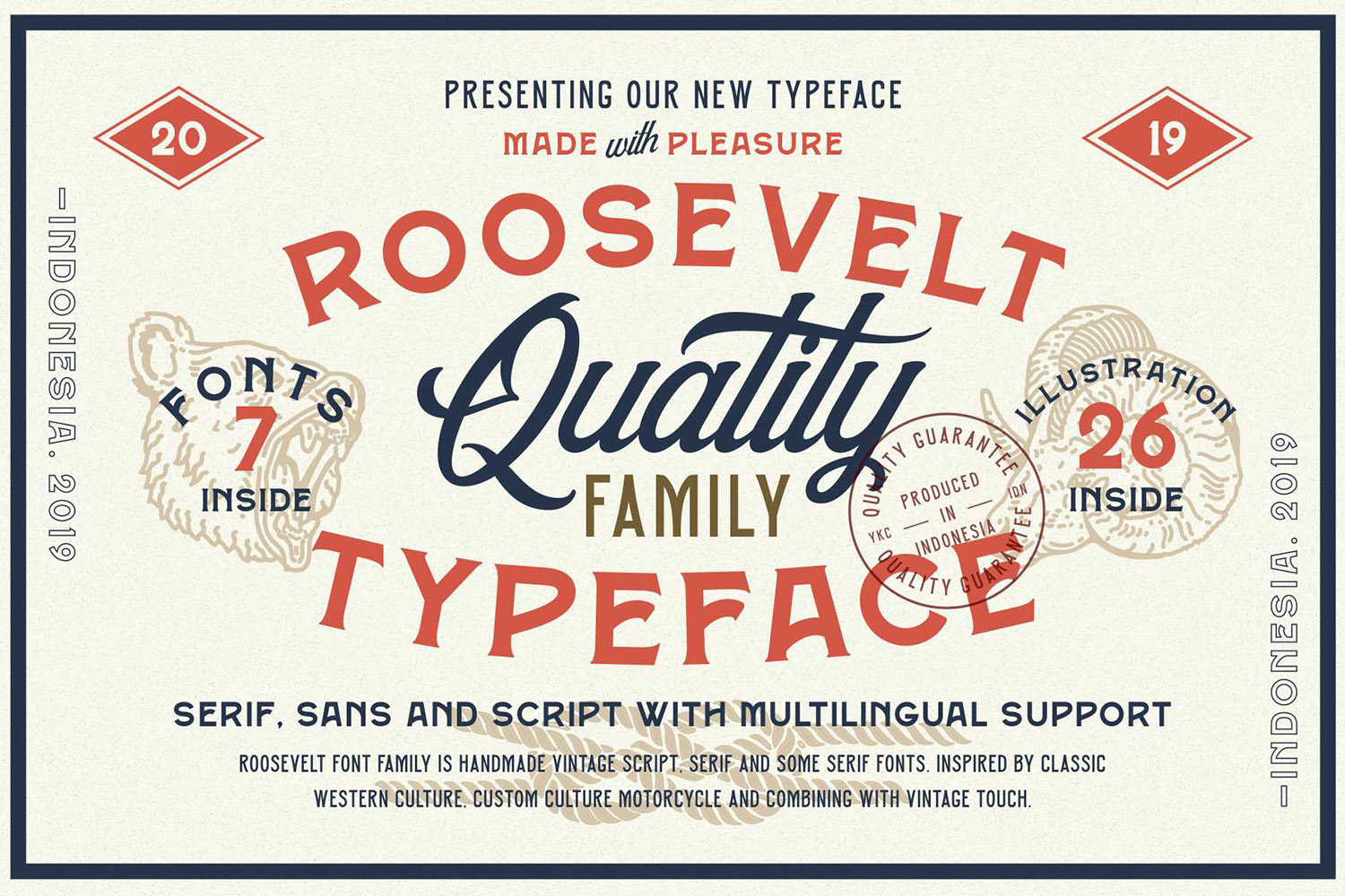 Roosevelt Font Family example image 1