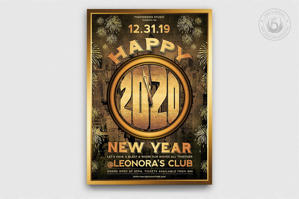 10 New Year Flyer Bundle example image 4