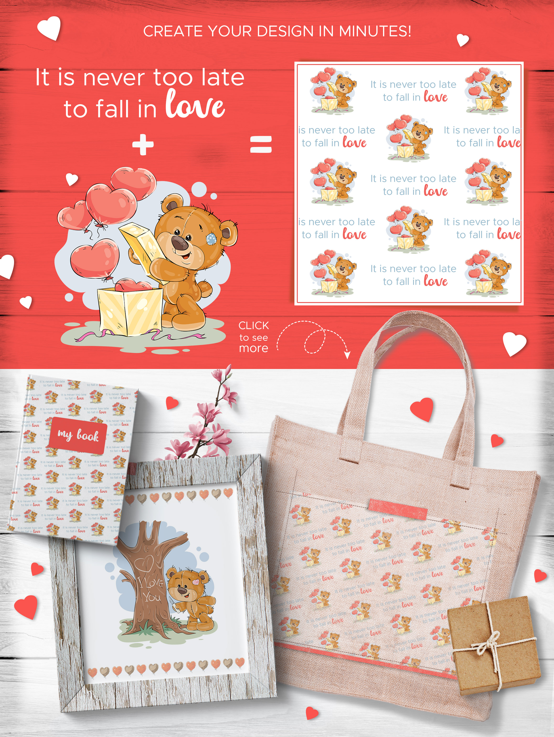 Teddy bear. Love collection.   example image 5