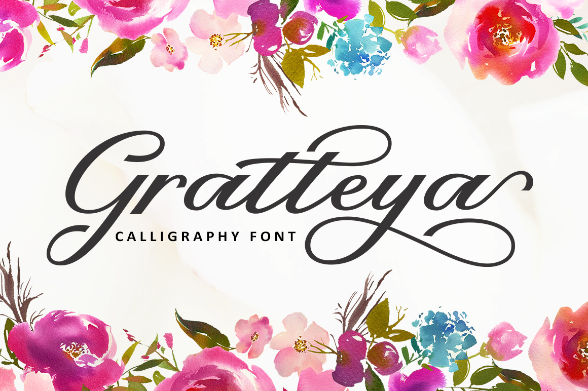The Calligraphy Font Bundle example image 5